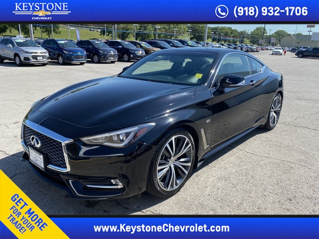 Pre-Owned 2018 INFINITI Q60 3.0t LUXE