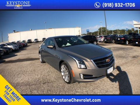 Pre-Owned 2017 Cadillac ATS Coupe Luxury AWD