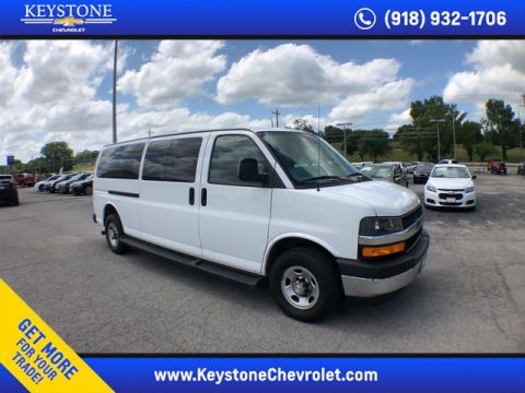 Pre-Owned 2019 Chevrolet Express Passenger LT